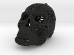 Filigree Sugar Skull Pendant 1