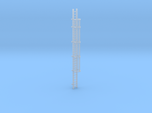 'HO Scale' - 30' Caged Ladder