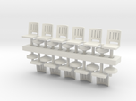 Barstools x11 HO Scale