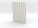 1:6  corrugated panel
