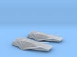 1/200 INTERSTELLAR RANGER SCOUT CRAFT (2 MODELS)