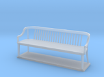 Miniature 1:48 Bankers Bench