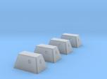 Apollo RCS Housings 1:48- Set of 4