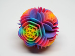 Rainbow Desert Rose - imaginary rock collection