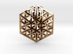 Triangular Hexagon Pendant