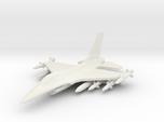 1/285 Scale F-16D w/Ordnance