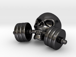 Training-Reminder - Skull with Dumbbell
