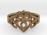 Triquetra Claddagh Ring