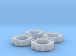 1/64 Wheel Weights Outer (4 Pieces)