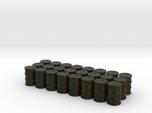 Game Piece, Power Grid, Oil Drum Token Type 1 x24