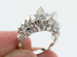 Crystal Ring Size 8
