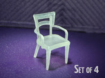 1:48 Dog Bone Chair, with Arms
