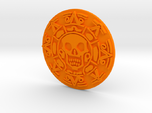 Pirates of The Caribbean Cursed Aztec Coin Jack