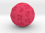 D36 Sphere Dice numbered from 0 to 35