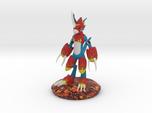 Flamedramon Sculpture (12 Cm Tall)