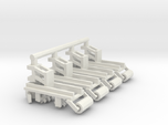 1/64 Row Incorporator Bed Conditioner, Set of 4