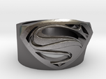 Superman Ring - Man Of Steel Ring Size US 7