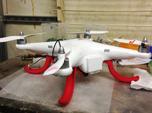 DJI Phantom - FPV lowrider kit