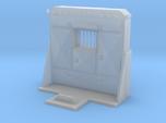 1/87th HO Scale Cabinet Style Headache rack 3