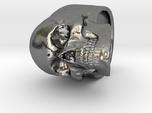 Memento Mori Full Skull Ring size 8