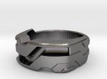 US9 Ring XXI: Tritium (Stainless Steel)