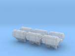 1:72 Life Boat Canister on Wall - Set of 6