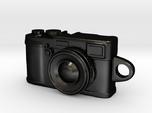 Fujifilm x100s Camera Pendant Keychain