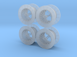 15ft Reel Assy - HO Scale 4 Pack