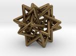 5 Tetrahedron earring