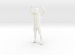 Bodybuilding man in 8cm Passed
