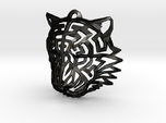 Tiger Head Pendant