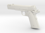 1:12 scale 1911 pistol with compensator