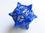 'Center Arc' dice, D20 Spindown Life Counter LARGE
