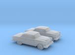 1/160 2X 1955 Chevrolet Belair