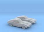 1/160 2X 1963 Corvette Stingray