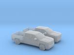 1/160 2X 2014 Chevrolet Silverado Crew Cab