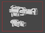 """""""LOCKOUT"""" Transformers Weapons Set (5mm post)"""