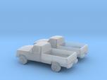 1/160 2X 1988-91 Dodge Ram Single Cab