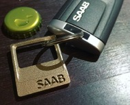 SAAB - Key Ring Pendant Bottle Opener