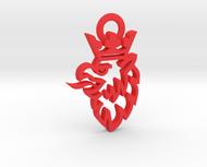 Saab Griffin logo keychain