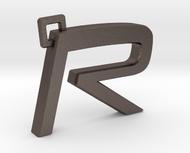 Volvo R Logo Keychain
