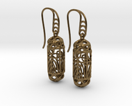 FitzLogo Filigree Earrings