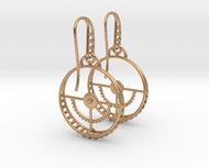 Clockwork Hoop Earrings