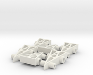 6 F1 Car Game Pieces
