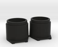 Pinball Button Housing (Cut-Off) #B-21018 (2 qty)