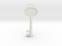 Resident Evil 3: Sickroom Key in White Strong & Flexible