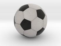 """Foosball 1.2"""" Inch / 3.048 cm diameter in Full Color Sandstone"""