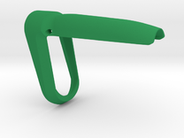 P-09 Backstrap Funnel (M) in Green Strong & Flexible Polished