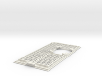 A1200 CPU Expansion Port Cover - With 40mm mount in White Strong & Flexible