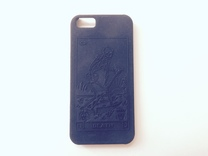 iPhone 6 Case - La Mort in Black Strong & Flexible
